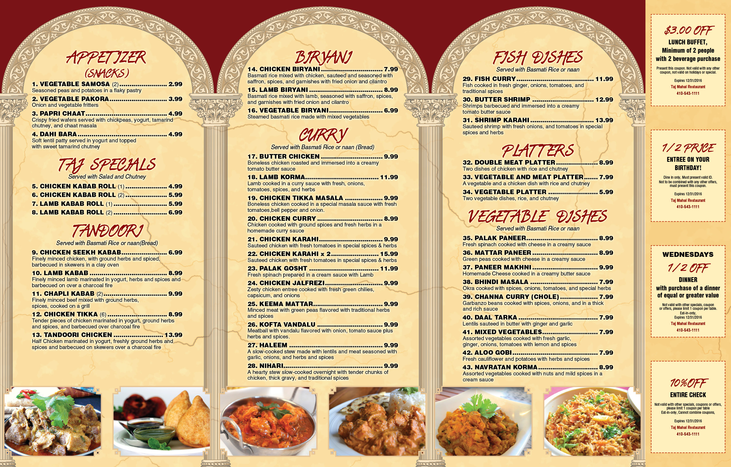 Mahal Indian Food