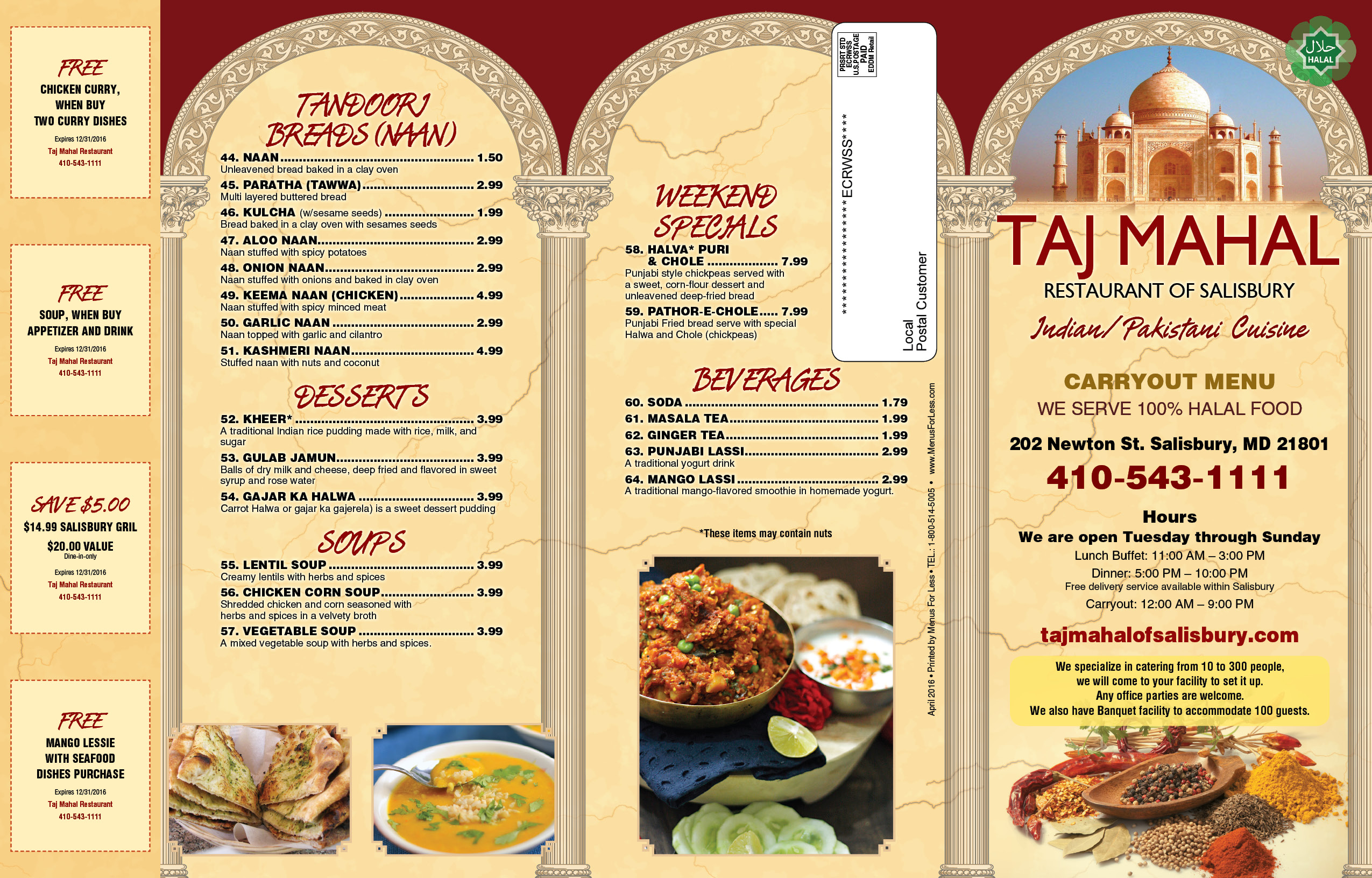 Taj Tandoori Indian Restaurant